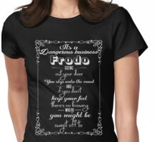 Lotr Quote  Womens Fitted T-Shirt