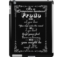 Lotr Quote  iPad Case/Skin