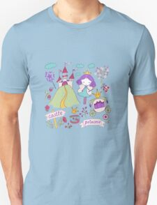 Fairy princess and her castle T-Shirt