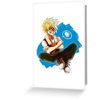 Boku no hero academia Greeting Card