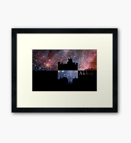 Downton Abbey Universe Framed Print