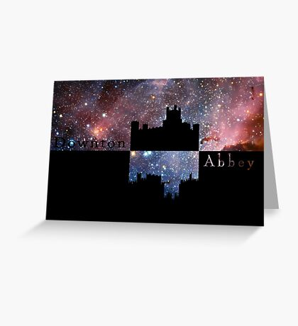 Downton Abbey Universe Greeting Card