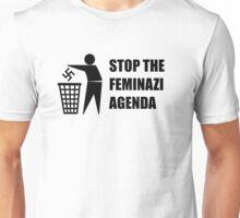 Stop the Feminazi Feminist Agenda Unisex T-Shirt