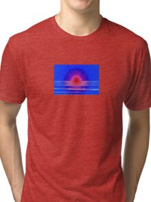 Pink Horizon Tri-blend T-Shirt
