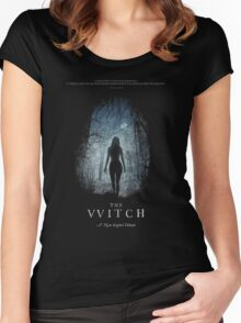 The Witch Movie Horror 2016 Women's Fitted Scoop T-Shirt
