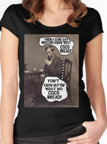 Coco Bread: Presidential Deal Sealer Women's Fitted Scoop T-Shirt