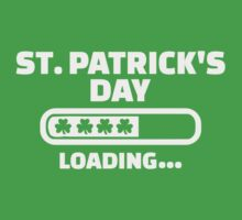 St. Patrick's day loading One Piece - Short Sleeve