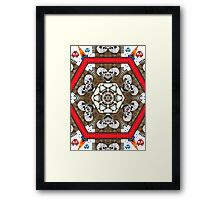 The Laughting Skulls II Framed Print