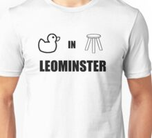 Leominster Herefordshire - Home of the Ducking Stool Unisex T-Shirt