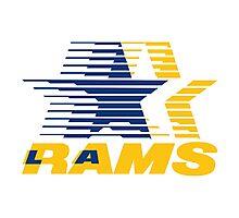 Los Angeles Rams Olympics Photographic Print