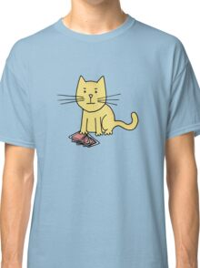 Kitten Loves Poker Classic T-Shirt
