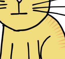Kitten Loves Poker Sticker