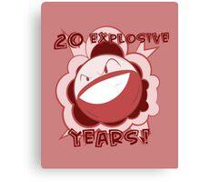 20 Explosive Years of Pokemon! Canvas Print