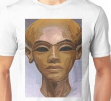 'Heretic King' - Watercolor Akhenaton Bust Unisex T-Shirt