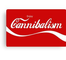 Enjoy Cannibalism Canvas Print