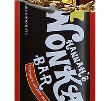 Hannah's Wonka Bar with Golden Ticket Cases by awasomedesign
