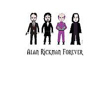 Alan Rickman Forever Photographic Print