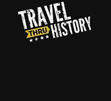 Travel Thru History White Logo Unisex T-Shirt