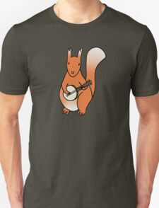 Squirrels Play The Banjo For Your Love Unisex T-Shirt