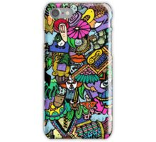 Colorful world Doodle  iPhone Case/Skin