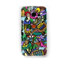 Colorful world Doodle  Samsung Galaxy Case/Skin