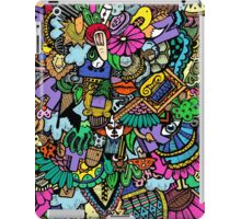 Colorful world Doodle  iPad Case/Skin