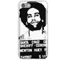 HUEY P. NEWTON-MUGSHOT iPhone Case/Skin