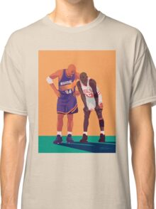 Michael Jordan and Charles Barkley Classic T-Shirt