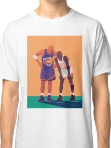Michael Jordan and Charles Barkley Classic T-Shirt