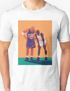 Michael Jordan and Charles Barkley Unisex T-Shirt