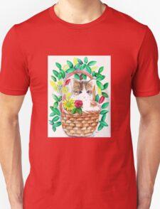 Kitten watercolour Unisex T-Shirt