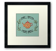 Small Batch Home Brew Framed Print