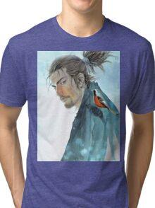 """""""Miyamoto Musashi Vagabond"""" Tri-blend T-Shirt"""