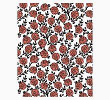 Roses // Linocut // pastel white by andrea lauren  Classic T-Shirt