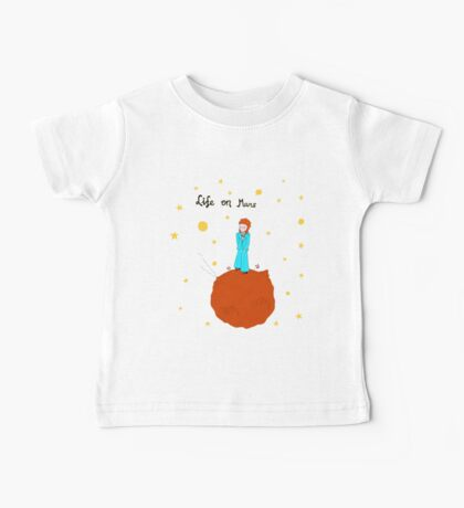 BOWIE LIFE ON MARS Baby Tee