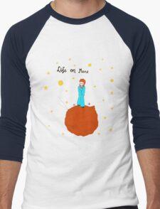BOWIE LIFE ON MARS Men's Baseball ¾ T-Shirt