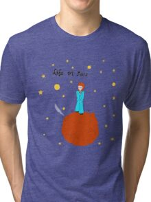 BOWIE LIFE ON MARS Tri-blend T-Shirt