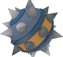 Demoman Blu Sticky Bomb Stickers by AC519