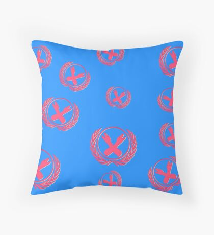 Nerdfighter Hand Symbol Throw Pillow