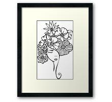 Flower Girl 2 Framed Print