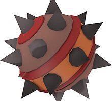 Demoman Red Sticky Bomb Stickers by AC519