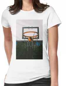 Basket Ring Womens Fitted T-Shirt