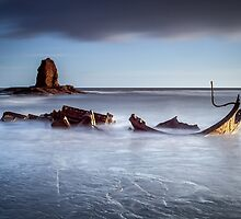 Admiral Von Tromp Saltwick Bay Whitby by Ebor-Images
