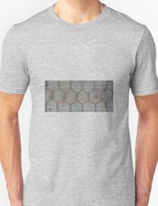 CHICKEN WIRE ON WOOD T-Shirt