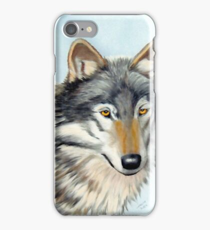 Wolf in Pastels iPhone Case/Skin