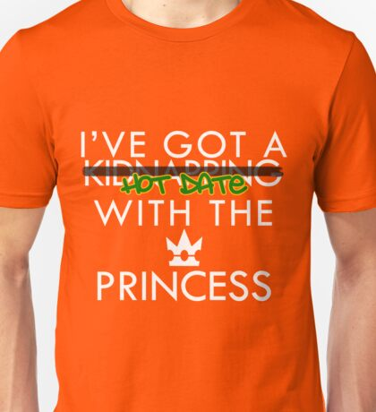 Hot Date with the Princess v2 Unisex T-Shirt