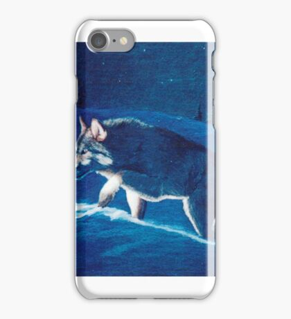 Wolf in the Headlights iPhone Case/Skin