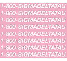 Sigma Delta Tau Hotline Bling Photographic Print