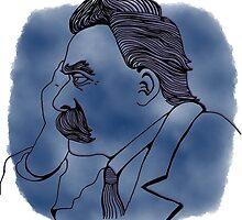 Nietzsche for Stephen by kodysdrawings