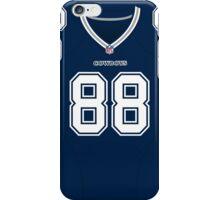 Dallas Cowboys Dez Bryant Color Jersey iPhone Case/Skin